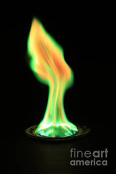 Ted Kinsman - Copperii Chloride Flame Test