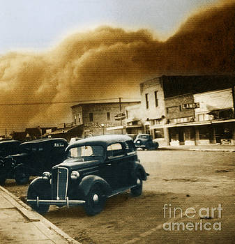 Science Source - Dust Bowl Of The 1930s Elkhart Kansas