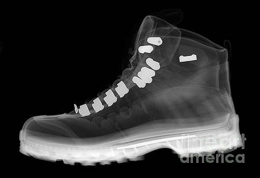 Ted Kinsman - X-ray Of A Hiking Boot