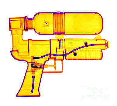 Ted Kinsman - An X-ray Of A Squirt Gun