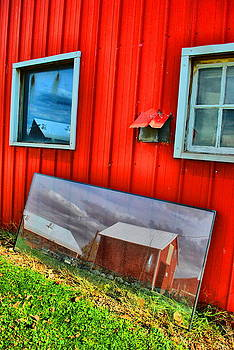 Emily Stauring - Barn In Reflection