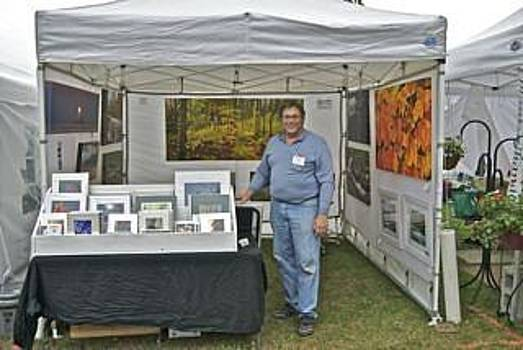 Michael Peychich - Booth at Saint Clair Shores