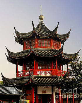 Christine Till - Buddhist Pagoda - Shanghai China