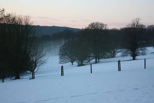 Yvonne Ayoub - Oxfordshire Winter Morning