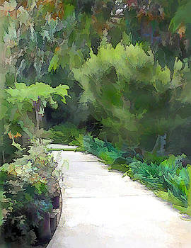 green path into the - photo #24