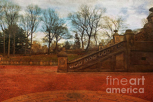 Susan Gary - Stairway in Central Park