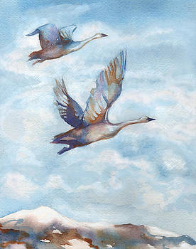 Peggy Wilson - Trumpeter Swans