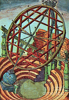 Science Source - Tycho Brahes Equatorial Armillary