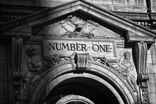 Val Black Russian Tourchin -  Number One building in Black and White
