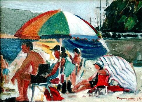 George Siaba - At the beach
