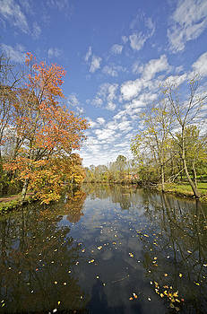 David Letts - Autumn Colors on the Delaware and Raritan Canal