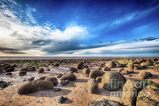 Simon Bratt Photography LRPS - Beautiful seaweed rock outcrops on Norfolk coast