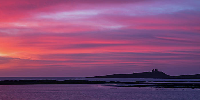 David Pringle - Dunstanburgh Castle Sunrise
