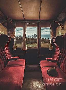 Mythja Photography - Empty train cabin