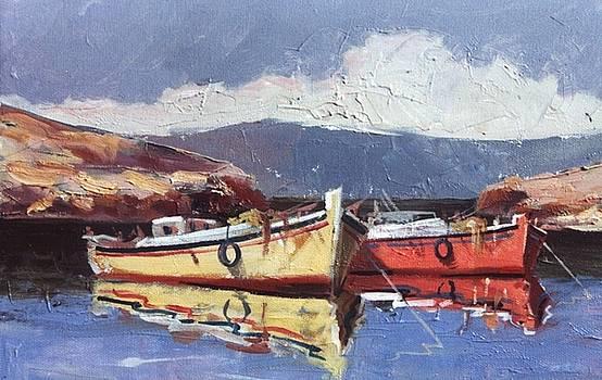 George Siaba - Fishermen boats