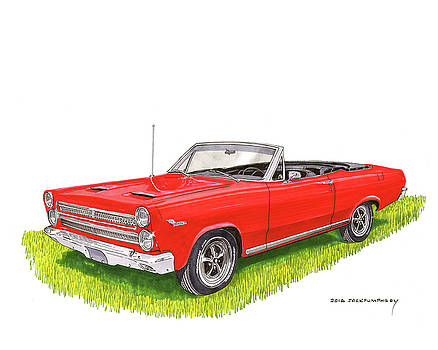 Jack Pumphrey - 1966 Mercury Cyclone Convertible G T
