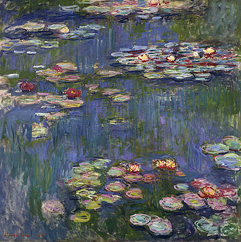Claude Monet - Water Lilies, 1916