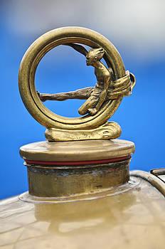 Jill Reger - 1912 Gobron-Brillie 12 CV Skiff Hood Ornament