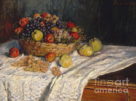 Claude Monet - Apples and Grapes