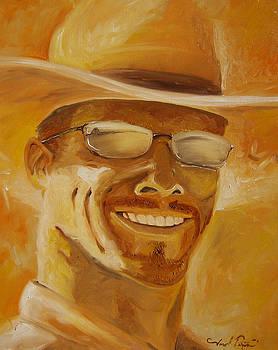 Joseph Palotas - A day in the Sun - Self Portrait