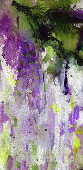 Ginette Callaway - Abstract Lavender Cascades