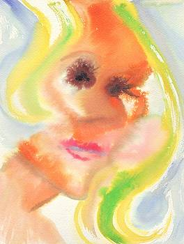 Suzanne  Marie Leclair - Abstract Self Portrait