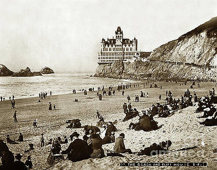 California Views Mr Pat Hathaway Archives - Adolph Sutro Third Cliff House Photo No. 37 January 14, 1896 Circa 1902
