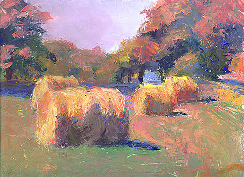 Timothy Chambers - Airmont Hay Bales Morning