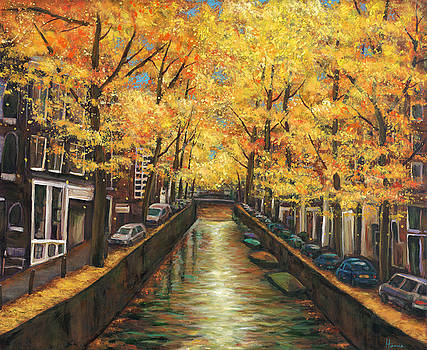 JOHNATHAN HARRIS - Amsterdam Autumn
