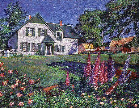 David Lloyd Glover - ANNE OF GREEN GABLES HOUSE