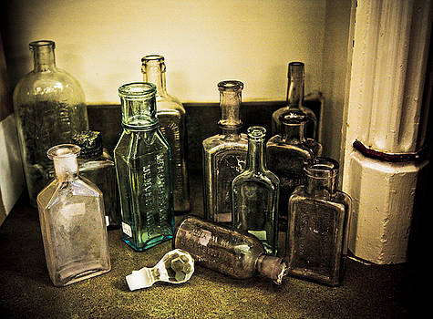 Marilyn Hunt - Antique Glass Bottles