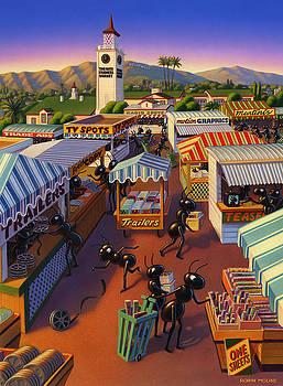 Robin Moline - Ants at the Hollywood Farmers Market