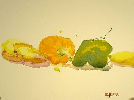 Elizabeth Carr - Bananas and Peppers Line Up