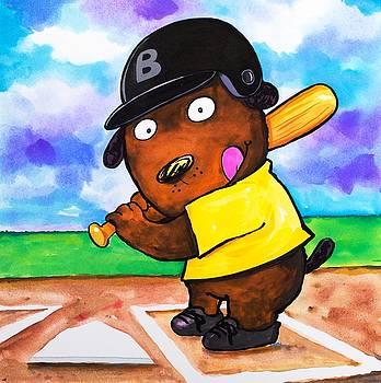 Scott Nelson - Baseball Dog