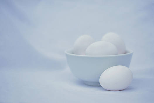 Nikolyn McDonald - Beginnings - Eggs and Bowl - Still Life