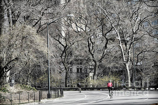 Chuck Kuhn - Bicycling Central Park