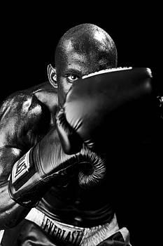 Val Black Russian Tourchin - Black Boxer in Black and White 04