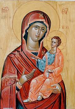 George Siaba - blessed Virgin Mary