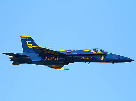 Wingsdomain Art and Photography - Blue Angels F-18 Super Hornet . 7D8049