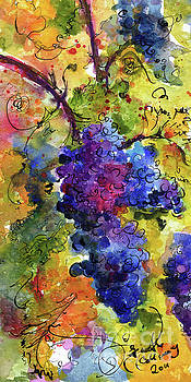 Ginette Callaway - Blue Grapes