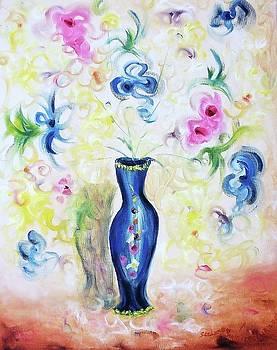 Suzanne  Marie Leclair - Blue Vase