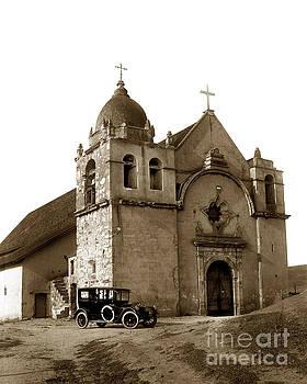 California Views Mr Pat Hathaway Archives - Carmel Mission Photo by Lewis Josselyn of Carmel taken in 1919