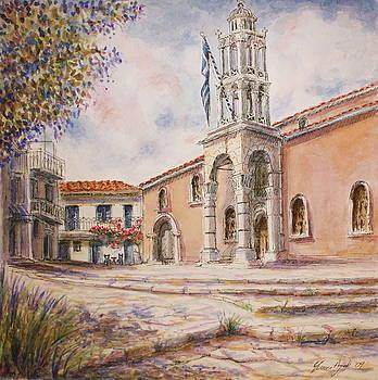 Yvonne Ayoub - Church of the Treis Hiarches Three Bishops Skiathos