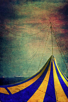 Silvia Ganora - Circus with distant ships II