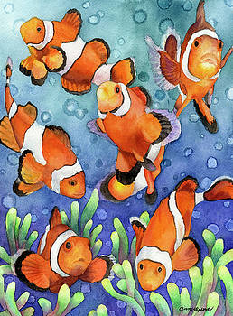 Anne Gifford - Clown fish