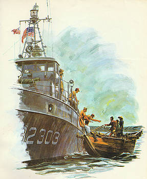 Jerry McElroy - Coast Guard In Vietnam