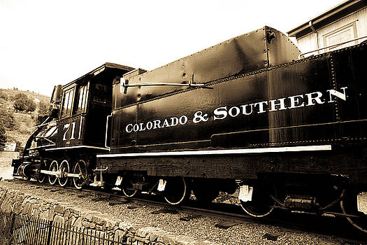 Marilyn Hunt - Colorado Southern Railroad 1