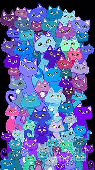 Nick Gustafson - Colorful Cat Collection