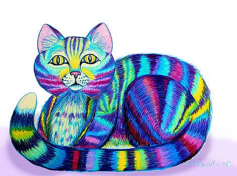 Nick Gustafson - Colorful Cat