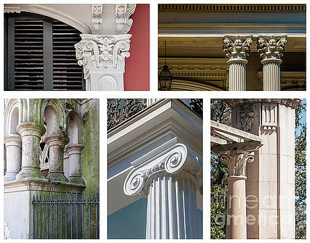Kathleen K Parker - Columns of New Orleans Collage